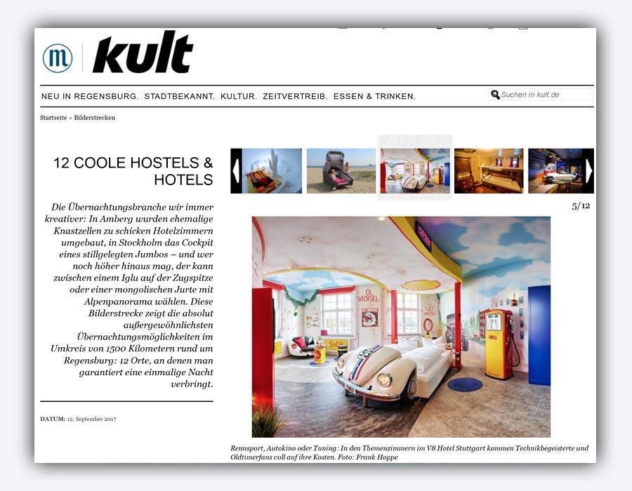 V8 Hotel auf Kult.de