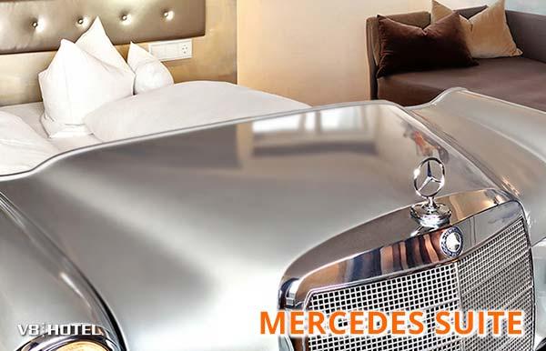 Mercedes Suite - Erlebnis Luxus auf vier Ebenen