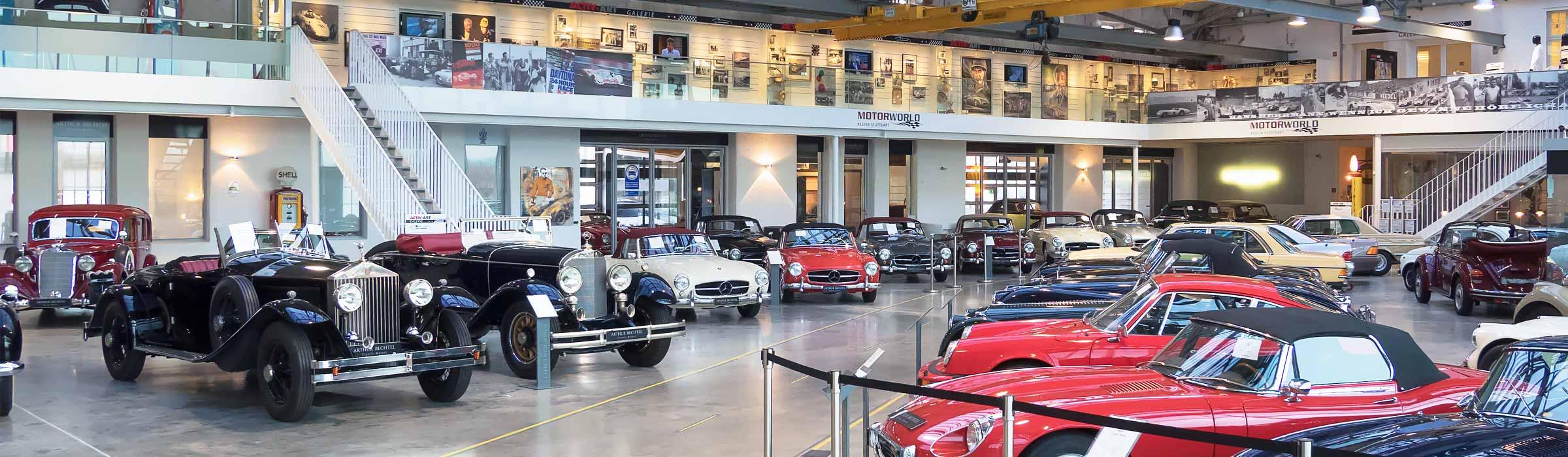 V8 Hotel-Handelshalle Motorworld Region Stuttgart