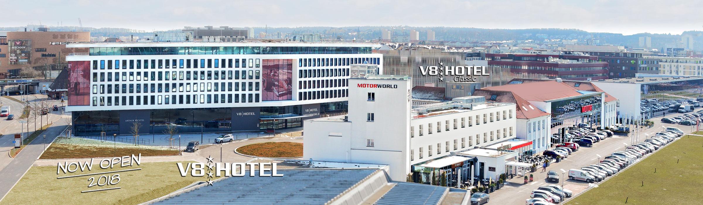 V8 hotel themen und designhotel motorworld stuttgart for Designhotel stuttgart