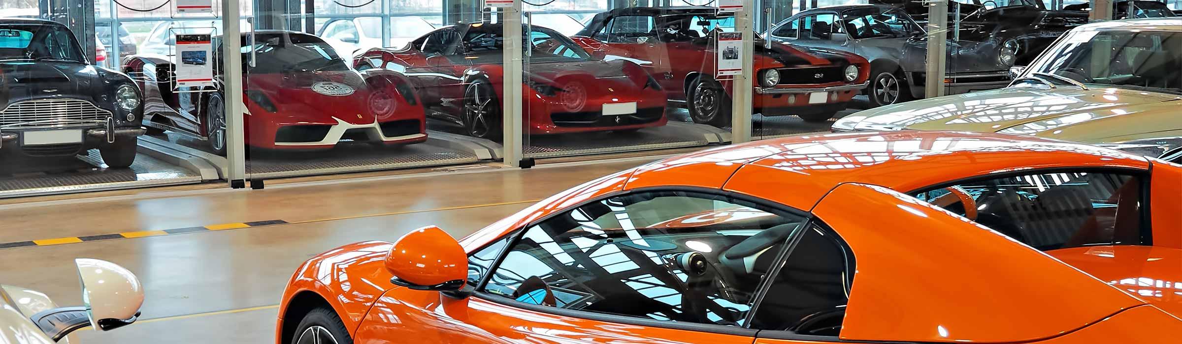 Werkstatthalle Motorworld Stuttgart
