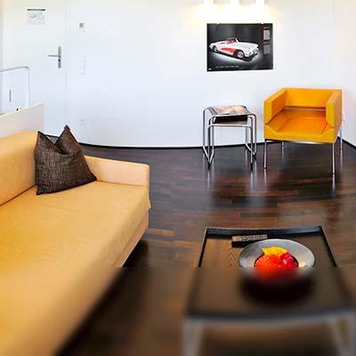 Junior-Suite - ein Aufenthalt mit viel Platz auf 45 m²
