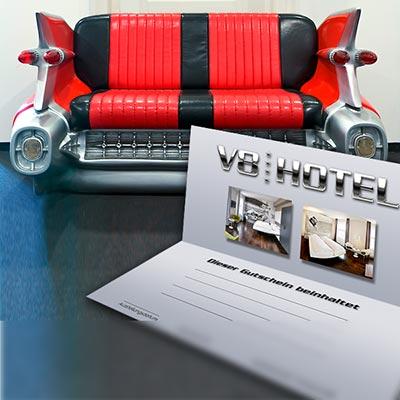 V8 HOTEL VERSCHENKEN