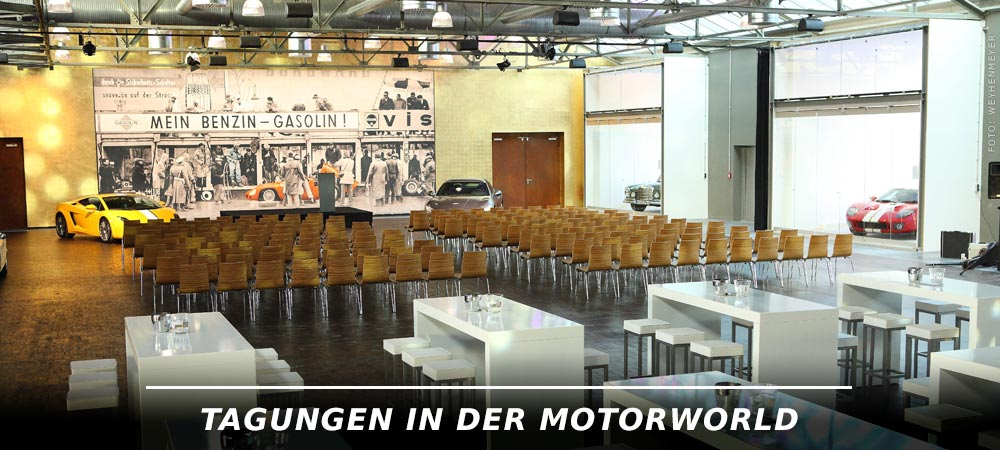 Tagen in der Motorworld - V8 HOTEL